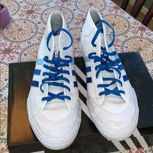 Men's Adidas Matchcourt Mid size 12